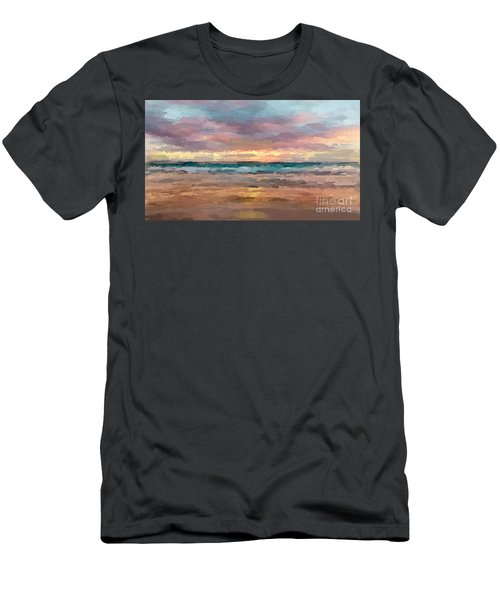 Morning Beachscape Men's T-Shirt (Athletic Fit)