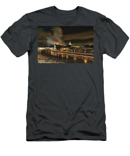 Moscow River Men's T-Shirt (Athletic Fit)