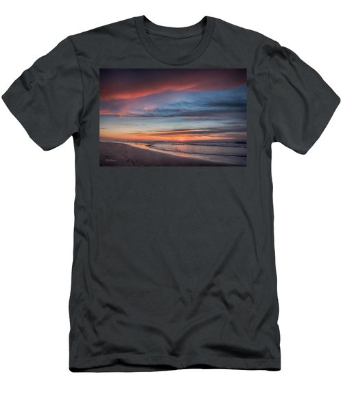 Moss Landing Sunset Men's T-Shirt (Athletic Fit)