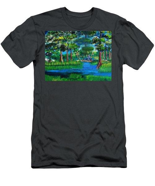 Moss Picker Impression Digital Men's T-Shirt (Athletic Fit)