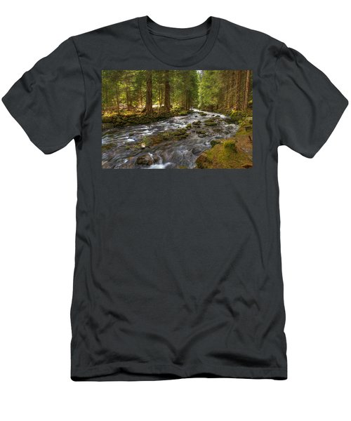 Mossy Stream Men's T-Shirt (Athletic Fit)
