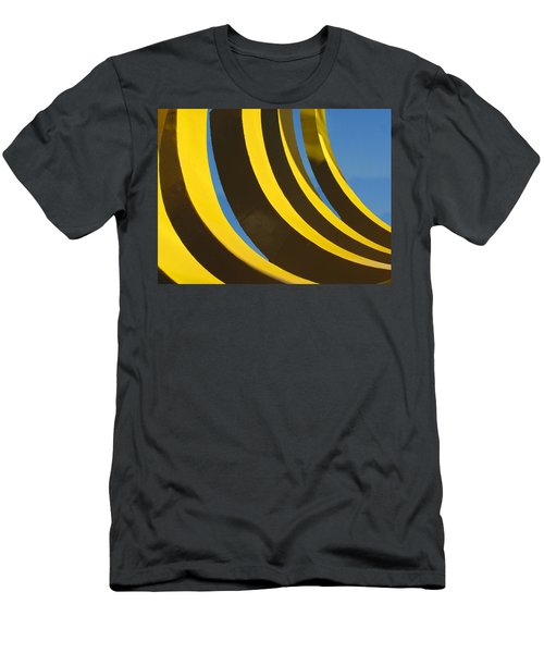 Mostly Parabolic Men's T-Shirt (Athletic Fit)