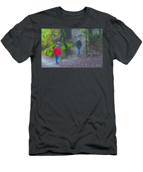 Mother And Son Men's T-Shirt (Athletic Fit)