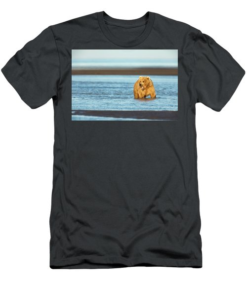 Mother Grizzly Fishing Men's T-Shirt (Athletic Fit)
