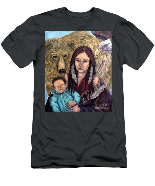 Motherhood-guardian Spirits Men's T-Shirt (Athletic Fit)