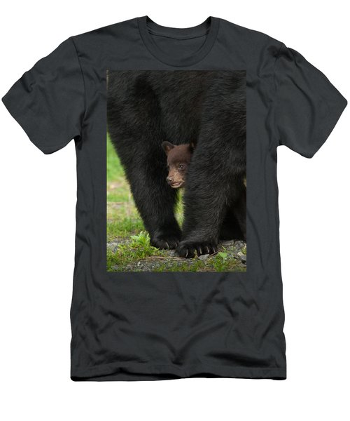 Men's T-Shirt (Athletic Fit) featuring the photograph Mother's Shelter by Joye Ardyn Durham