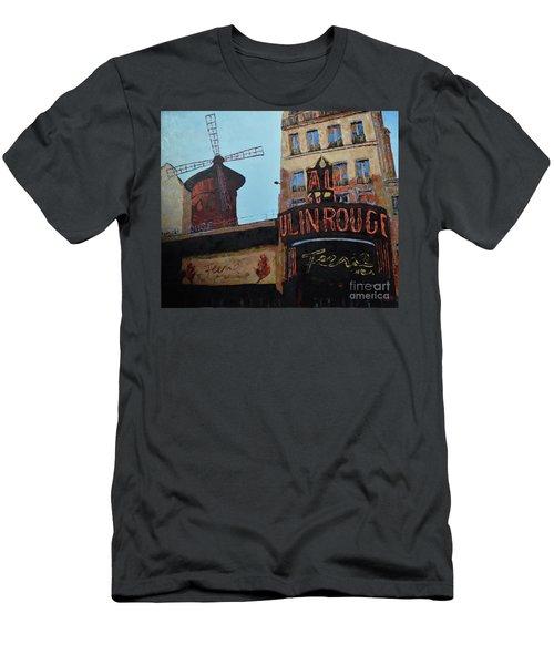 Moulin Rouge Men's T-Shirt (Athletic Fit)