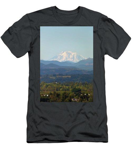 Mount Adams In Washington State Men's T-Shirt (Athletic Fit)