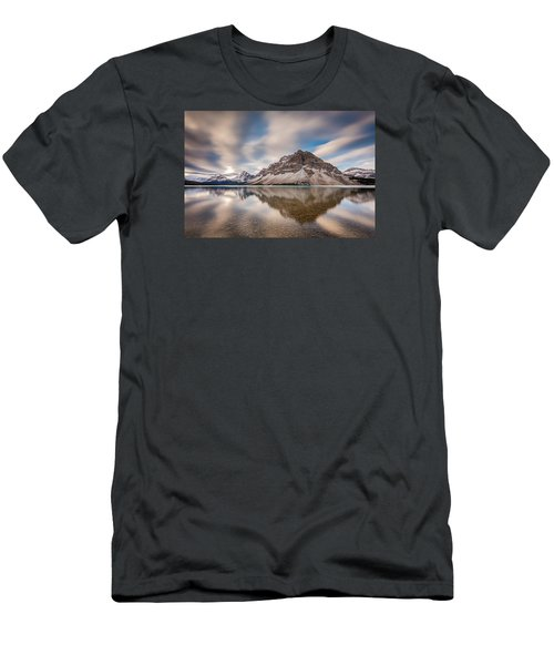 Mount Crowfoot Reflection Men's T-Shirt (Athletic Fit)