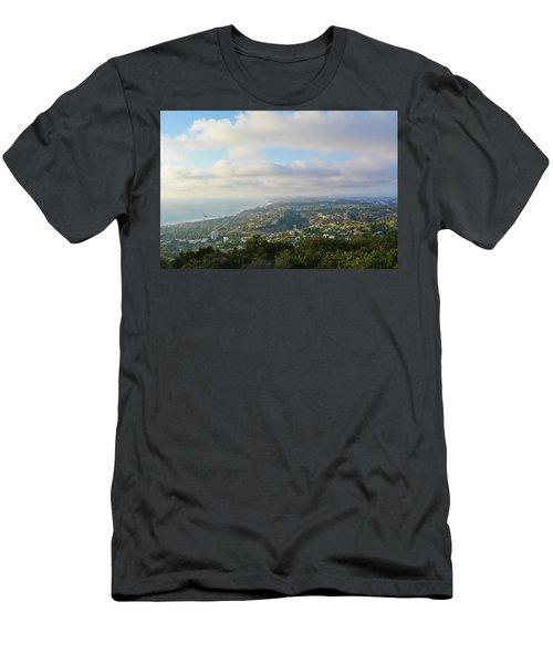 Mount Soledad La Jolla Men's T-Shirt (Athletic Fit)