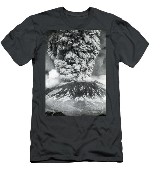 Mount St. Helens Eruption, 1980 Men's T-Shirt (Athletic Fit)