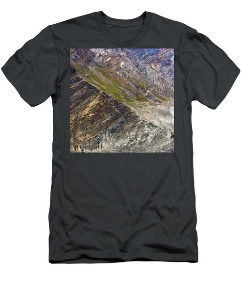 Mountain Abstract 1 Men's T-Shirt (Athletic Fit)