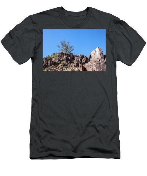 Mountain Bush Men's T-Shirt (Athletic Fit)