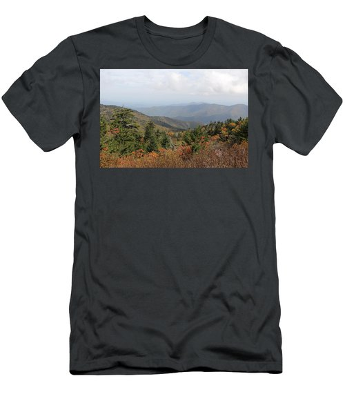 Mountain Long View Men's T-Shirt (Athletic Fit)