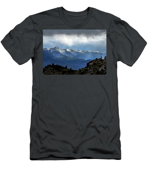 Mountain Moodiness Men's T-Shirt (Athletic Fit)