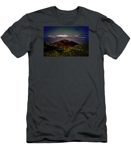 Men's T-Shirt (Slim Fit) featuring the photograph Mountain Of Love by B Wayne Mullins