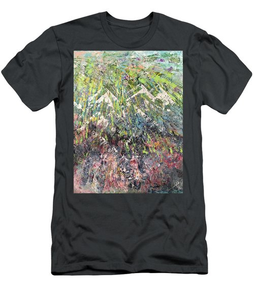 Mountain Of Many Colors Men's T-Shirt (Athletic Fit)