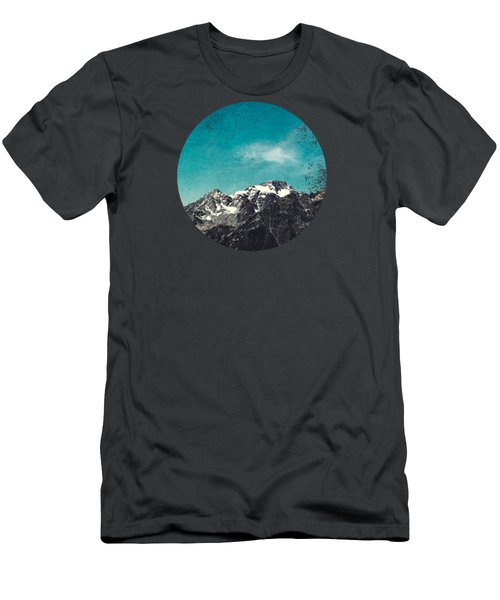 Mountain Range - Chiesa In Valmalenco - Lombardia - Italy Men's T-Shirt (Athletic Fit)