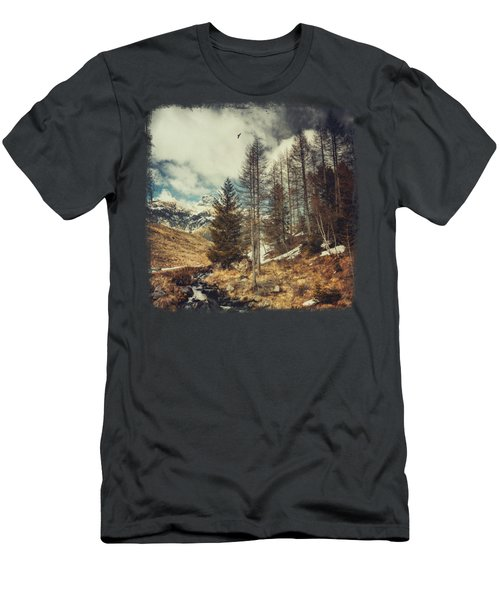 Mountain Spring Men's T-Shirt (Athletic Fit)