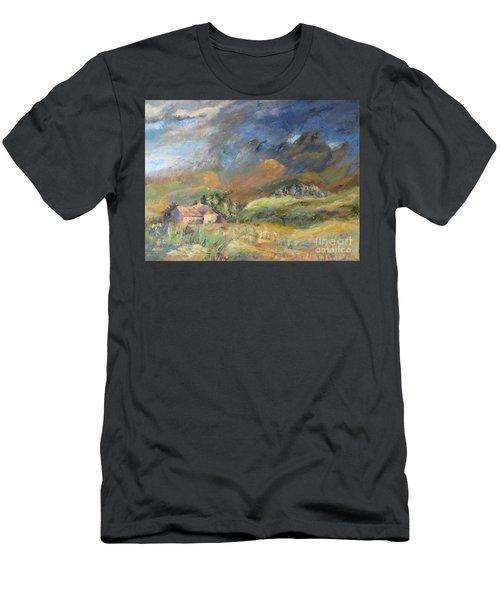 Mountain Storm Men's T-Shirt (Athletic Fit)