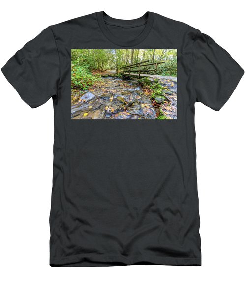 Mountain Stream #2 Men's T-Shirt (Athletic Fit)