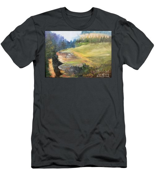 Mountain View  Men's T-Shirt (Slim Fit)