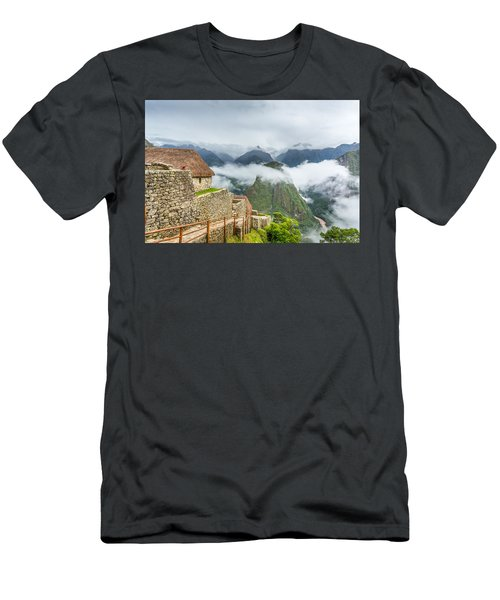 Mountain View. Men's T-Shirt (Athletic Fit)