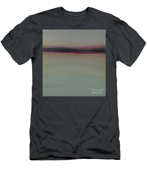 Mountains At Dawn Men's T-Shirt (Athletic Fit)