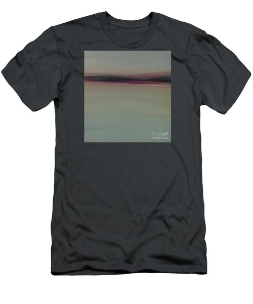 Men's T-Shirt (Athletic Fit) featuring the painting Mountains At Dawn by Michelle Abrams