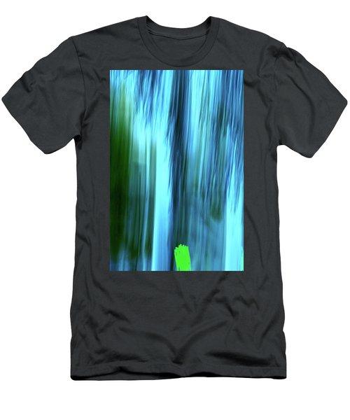 Moving Trees 37-15portrait Format Men's T-Shirt (Athletic Fit)