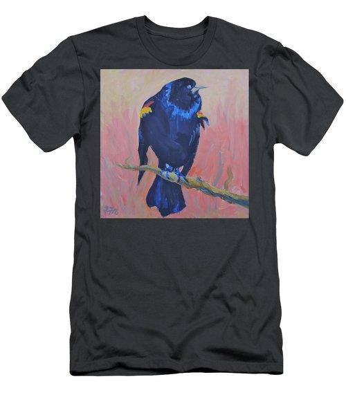 Mr. Cool  Men's T-Shirt (Slim Fit) by Francine Frank