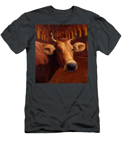 Mrs. O'leary's Cow Men's T-Shirt (Athletic Fit)