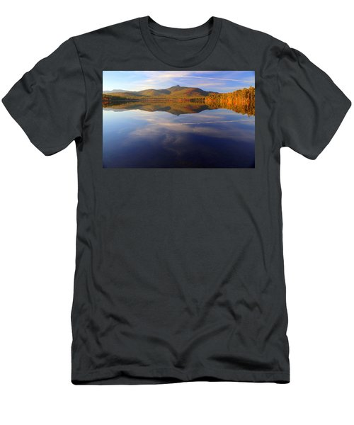 Mt. Chocorua In Blue Men's T-Shirt (Athletic Fit)