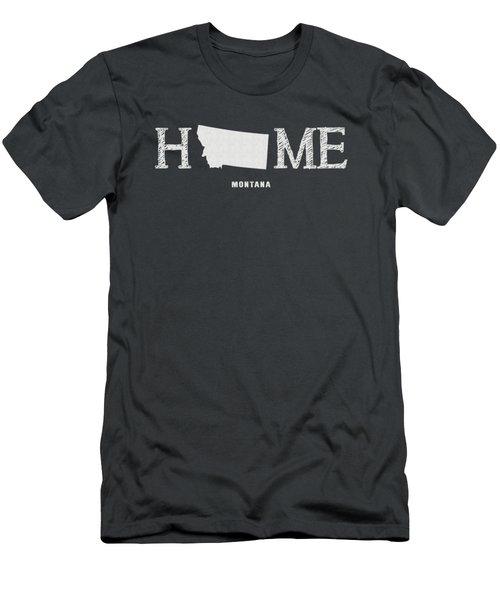 Mt Home Men's T-Shirt (Slim Fit) by Nancy Ingersoll