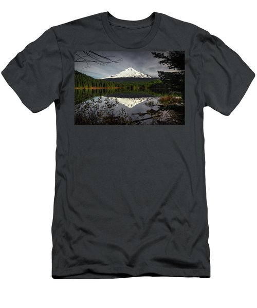 Mt Hood Reflection Men's T-Shirt (Athletic Fit)