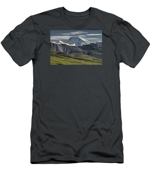 Men's T-Shirt (Slim Fit) featuring the photograph Mt. Mather by Gary Lengyel
