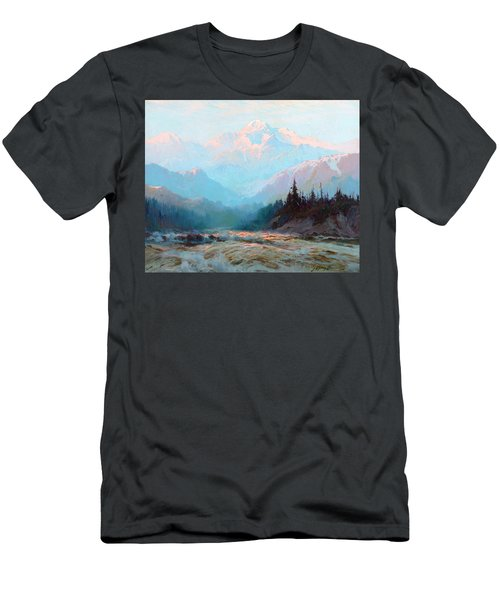 Mt. Mckinley, Alaska Men's T-Shirt (Athletic Fit)