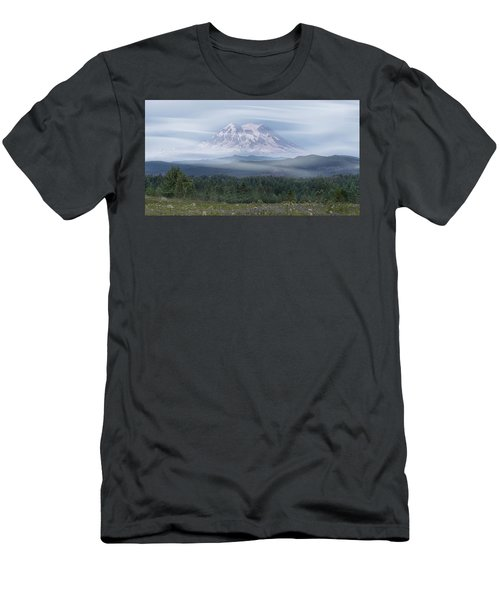 Mt. Rainier Men's T-Shirt (Athletic Fit)