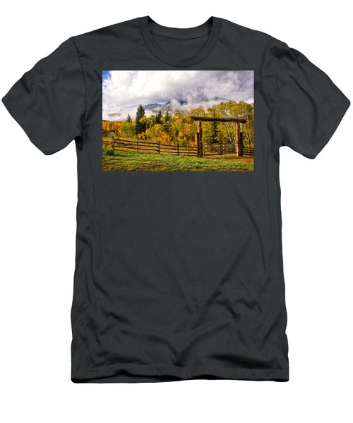 Mt Sopris Under The Clouds Men's T-Shirt (Athletic Fit)