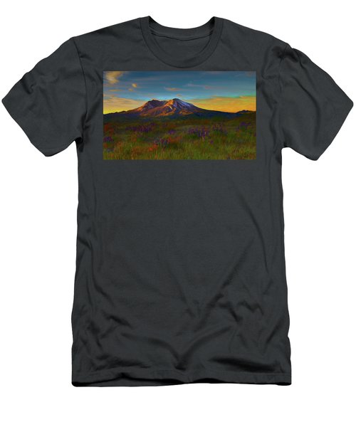 Mt. St. Helens Sunrise Men's T-Shirt (Athletic Fit)