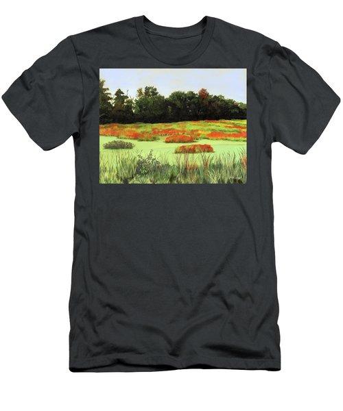 Mud Lake Marsh Men's T-Shirt (Athletic Fit)