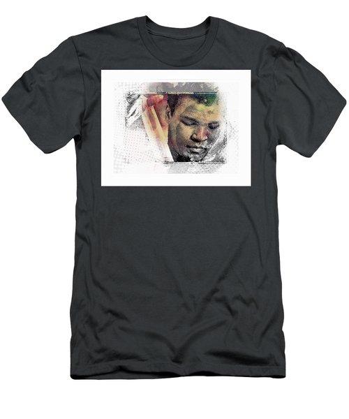 Muhammad Ali Men's T-Shirt (Slim Fit) by Allen Beilschmidt