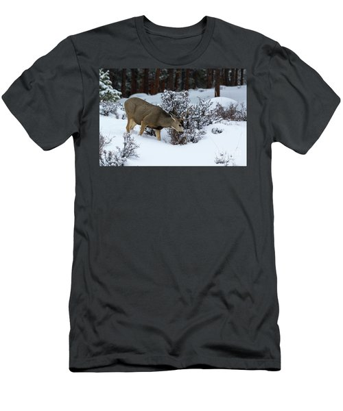 Mule Deer - 9130 Men's T-Shirt (Athletic Fit)