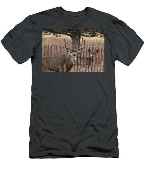 Muledeerbuck8 Men's T-Shirt (Athletic Fit)