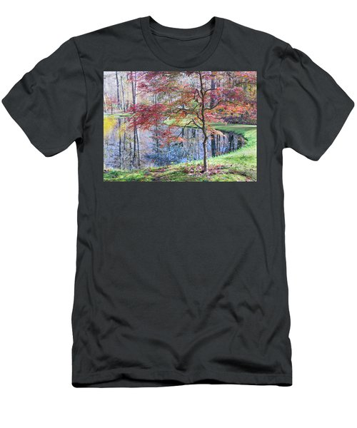 Multi Color Japanese Maple Men's T-Shirt (Athletic Fit)