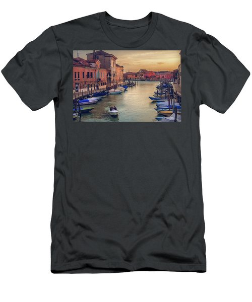 Murano Late Afternoon Men's T-Shirt (Slim Fit) by Brian Tarr