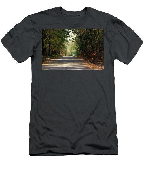 Murphy Mill Road Men's T-Shirt (Slim Fit) by Jerry Battle