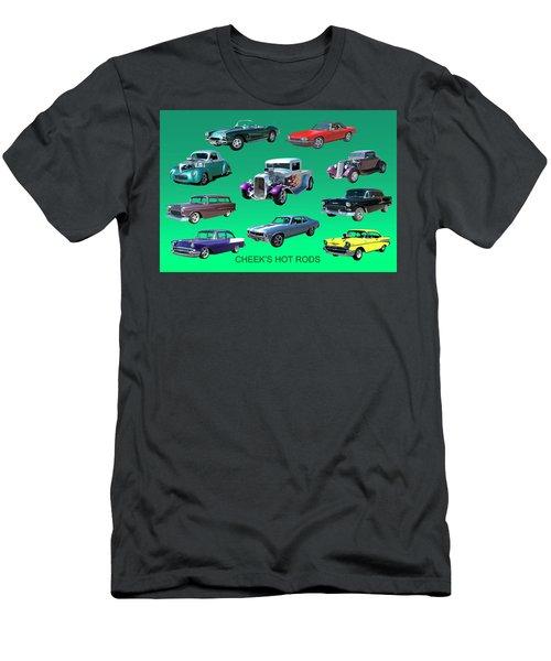 Muscle Times 9 Men's T-Shirt (Slim Fit) by Jack Pumphrey