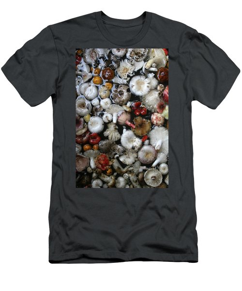 Mushrooms In Thailand Men's T-Shirt (Athletic Fit)