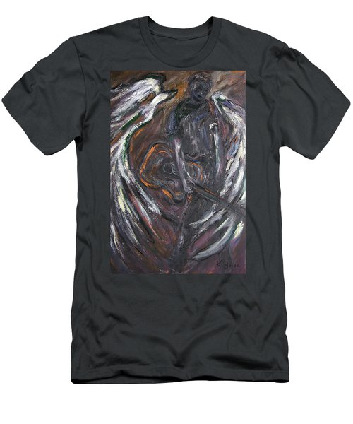 Music Angel Of Broken Wings Men's T-Shirt (Athletic Fit)